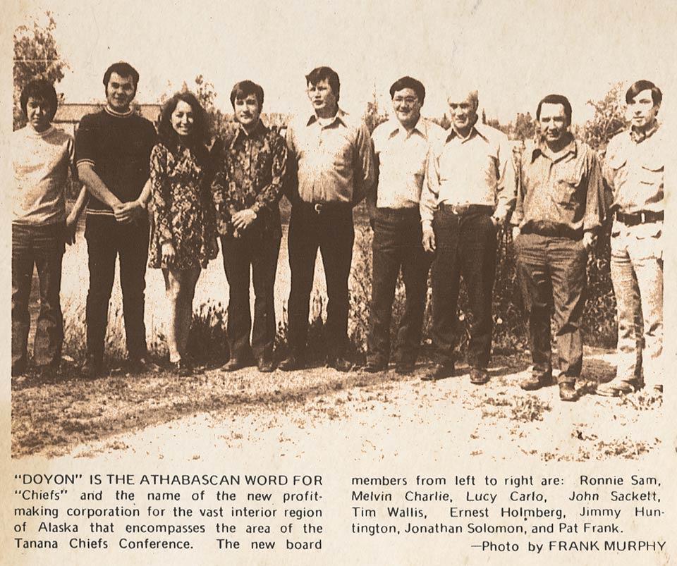 1973 Doyon board members